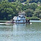 Ohio River Tug by Jack Ryan