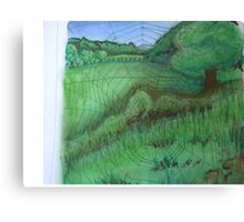 A Webbed View Canvas Print