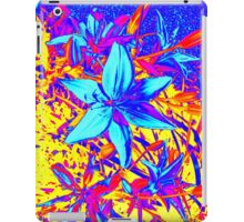 Blue Flame Lily iPad Case/Skin