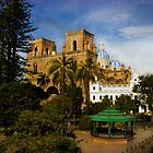 Cuenca Is A World Heritage Site by Al Bourassa