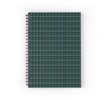 00983 Wilson's No. 205 Fashion Tartan  Spiral Notebook