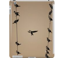 Cormorants at Twilight Toned iPad Case/Skin