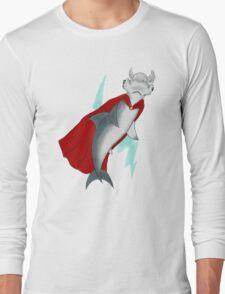 Mjolnirhead Shark Long Sleeve T-Shirt