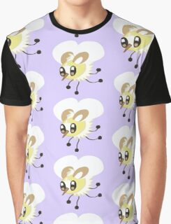 A Cute Fly Graphic T-Shirt