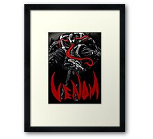 Agent Venom Framed Print