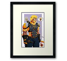 The Royal Archer Framed Print