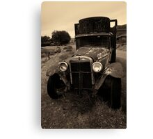 Old Chevrolet Truck I Toned Canvas Print