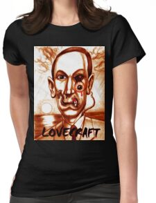 HP LOVECRAFT Womens Fitted T-Shirt