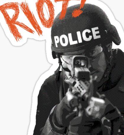 Riot Sticker