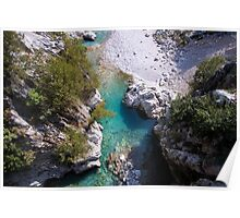 Turquoise Eye - Nature Photography Poster