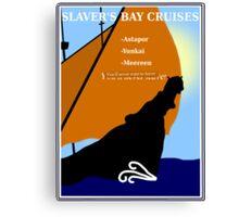 Slaver's Bay Cruises Canvas Print