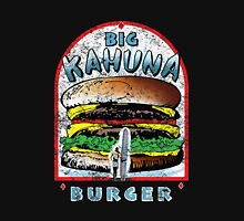 Big KAHUNA Burger - Distressed Variant Womens Fitted T-Shirt