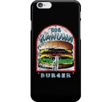 Big KAHUNA Burger - Distressed Variant iPhone Case/Skin