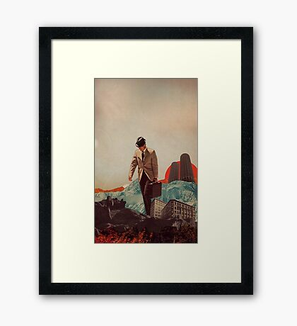 Leaving Their Cities Behind Framed Print