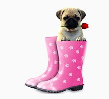 Pug In Boots Unisex T-Shirt