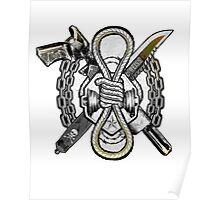Slipknot Logo Suicide Squad Poster