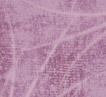Lavender Cloth Textured With Frond Design Sticker