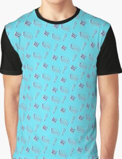 Screen Printer's Pattern Graphic T-Shirt