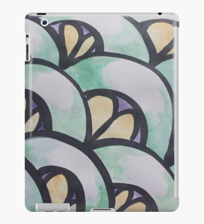 Water Color Scale Study iPad Case/Skin