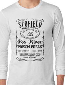 Michael Scofield - White Version Long Sleeve T-Shirt