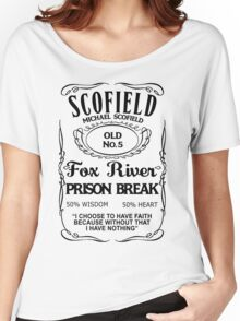 Michael Scofield - White Version Women's Relaxed Fit T-Shirt