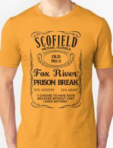 Michael Scofield - White Version Unisex T-Shirt
