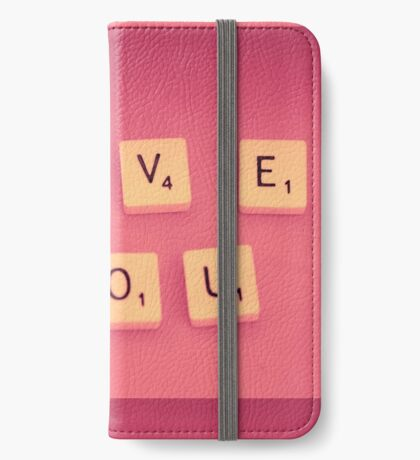 Love You iPhone Wallet/Case/Skin