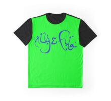Aly & Fila blue Graphic T-Shirt
