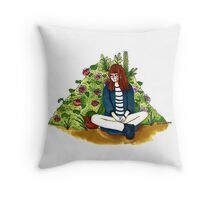 Garden Thoughts Throw Pillow
