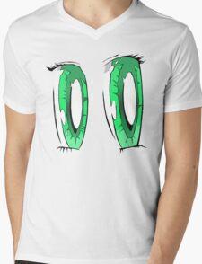 Green Anime Eyes T-Shirt