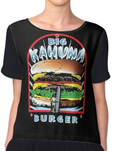 Big KAHUNA Burger - Reverse Dark Variant Chiffon Top