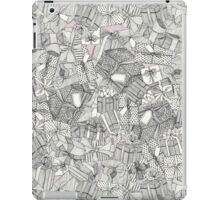 pencil parcels pink iPad Case/Skin