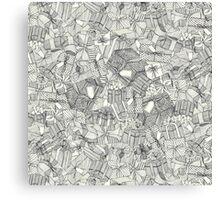pencil parcels ivory Canvas Print