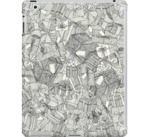 pencil parcels ivory iPad Case/Skin