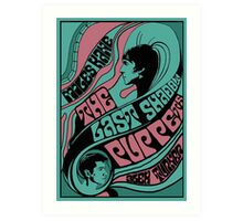 1960s inspired the Last Shadow Puppets poster Art Print