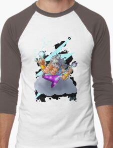 Zeus the Rock God of Lightning Men's Baseball ¾ T-Shirt