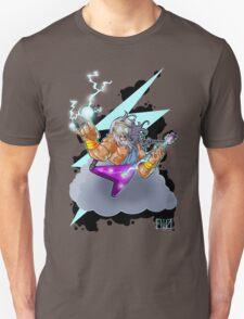 Zeus the Rock God of Lightning Unisex T-Shirt