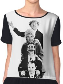 The Marx Brothers Chiffon Top