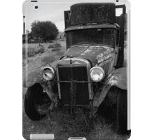 Old Chevrolet Truck I BW iPad Case/Skin