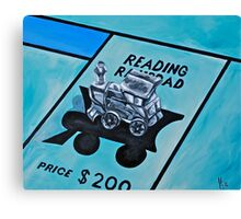 Take a ride on the reading  Canvas Print
