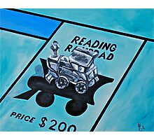 Take a ride on the reading  Photographic Print