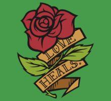 Love Heals One Piece - Short Sleeve