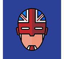 Captain Britain Photographic Print