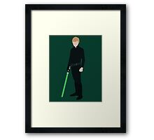 Luke Skywalker 1 Framed Print