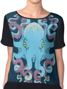 Twisted Tentacles Chiffon Top