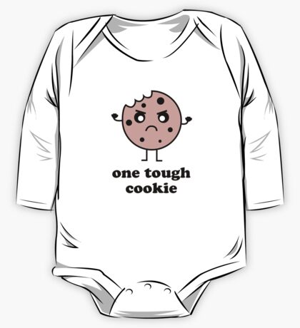 One Tough Cookie One Piece - Long Sleeve