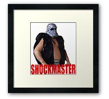 Shockmaster - Classic Wrestling Framed Print