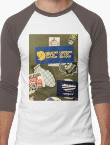 Leicester City on Tour Urban Graffiti Men's Baseball ¾ T-Shirt