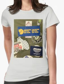 Leicester City on Tour Urban Graffiti Womens Fitted T-Shirt