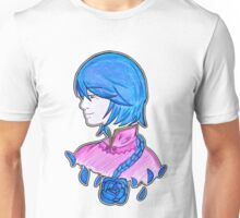 The one blue rose Unisex T-Shirt